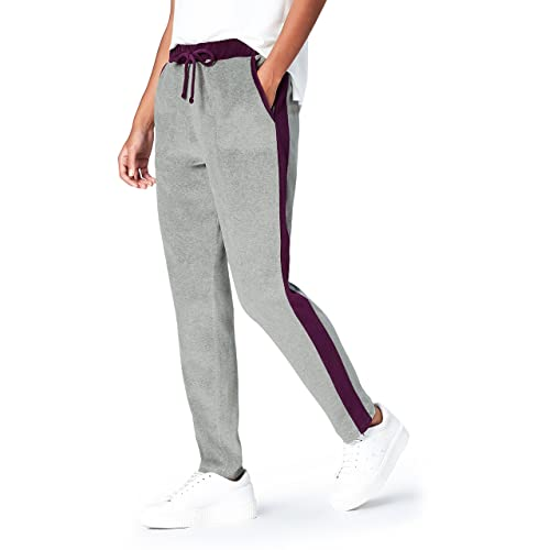 FIND Pantalones Estilo 'Jogger' de Terciopelo para Mujer 977539463efb