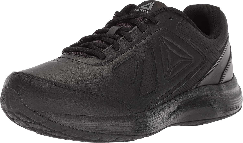 Reebok Men's Walk Ultra 6 DMX MAX Sneaker, Black Alloy, 14 M US