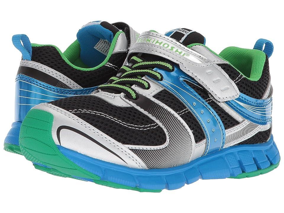 Tsukihoshi Kids Velocity (Little Kid/Big Kid) (Silver/Black) Boys Shoes