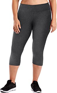 Women's Plus Size Active Stretch Capri
