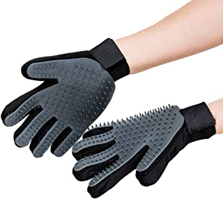 Sponsored Ad - CleanHouse Pets Grooming Gloves Dog & Cat Brush (Pair) – Easy, Machine Washable Deshedding Glove for Dogs &...