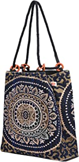 Uphaar Shala Womens Tote Bags Stylish Latest Collection (Blue)