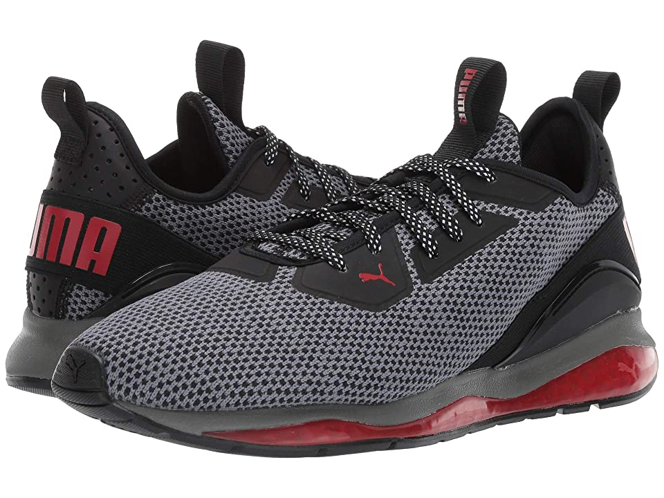 PUMA Cell Ultimate Descend (Puma Black/Ribbon Red/Puma Aged Silver) Men