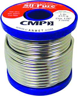 Silpure WSPSP12501 Premium Lead Free Solder, 1 lb Spool, 1/8