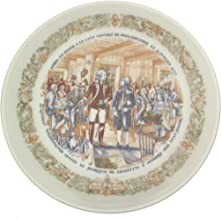 Limoges Marquis de Lafayette Legacy collection plate City Tavern of Philadelphia CP1353