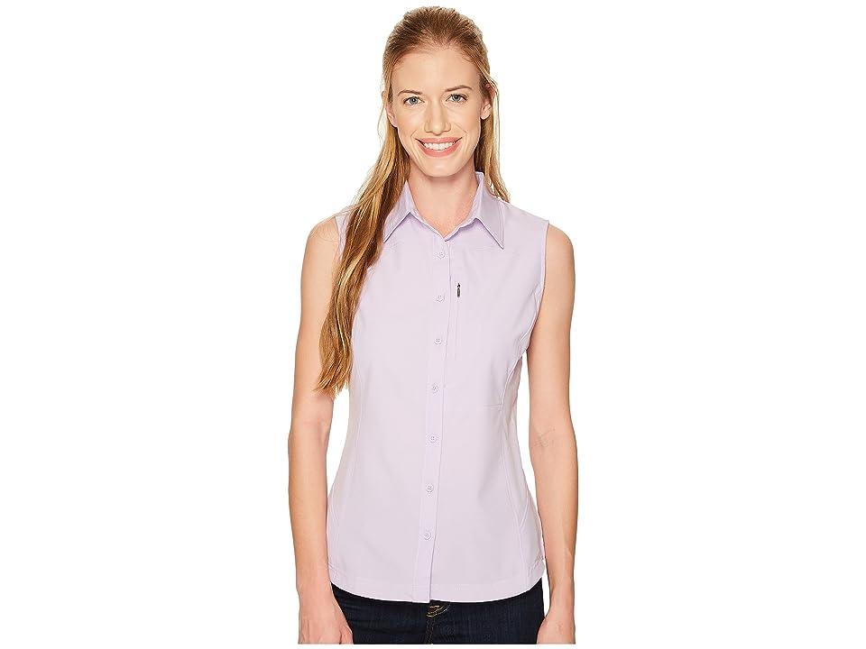 Columbia Silver Ridgetm II Sleeveless Shirt (Soft Violet) Women