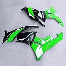 FidgetKute Left+Right Part Batwing Fairing Bodywork Panel Fit for Kawasaki Ninja ZX6R 09-12