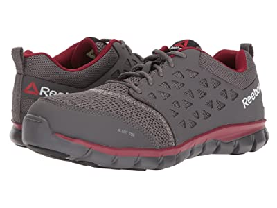 Reebok Work Sublite Cushion Work EH (Grey/Red Synthetic) Men