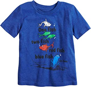 Jumping Beans Toddler Boys 2T-5T Dr. Seuss One Fish Two Fish Graphic Tee