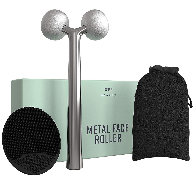 Face Sculptor + wholesale Scrubber 2-in-1 Massage Metal Rolle Cheap SALE Start :