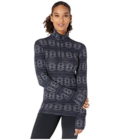 Icebreaker 250 Vertex Merino Long Sleeve 1/2 Zip Crystalline (Midnight Navy) Women