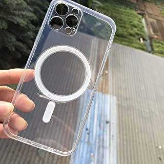 Transparent clear silicone case for IPhone 12 pro max with magsafe (IPhone 12 Pro Mx)