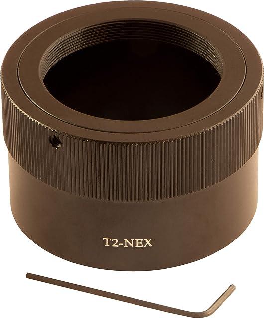 T2-NEX T/T2 Anillo adaptador de montura de objetivo para Sony Alpha A6600 A6400 A6300 A6100 a5100 a5000 a9 II a9 a7R a7 II a7R II a7R III a7R IV NEX-5 NEX-5N NEX-7 NEX-5R NEX-6 NEX-5T
