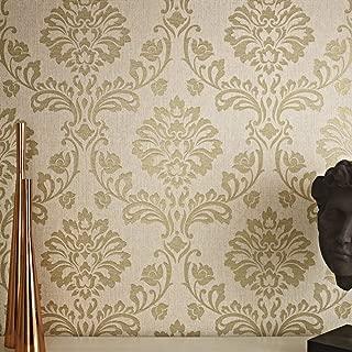 Best brown gold damask wallpaper Reviews