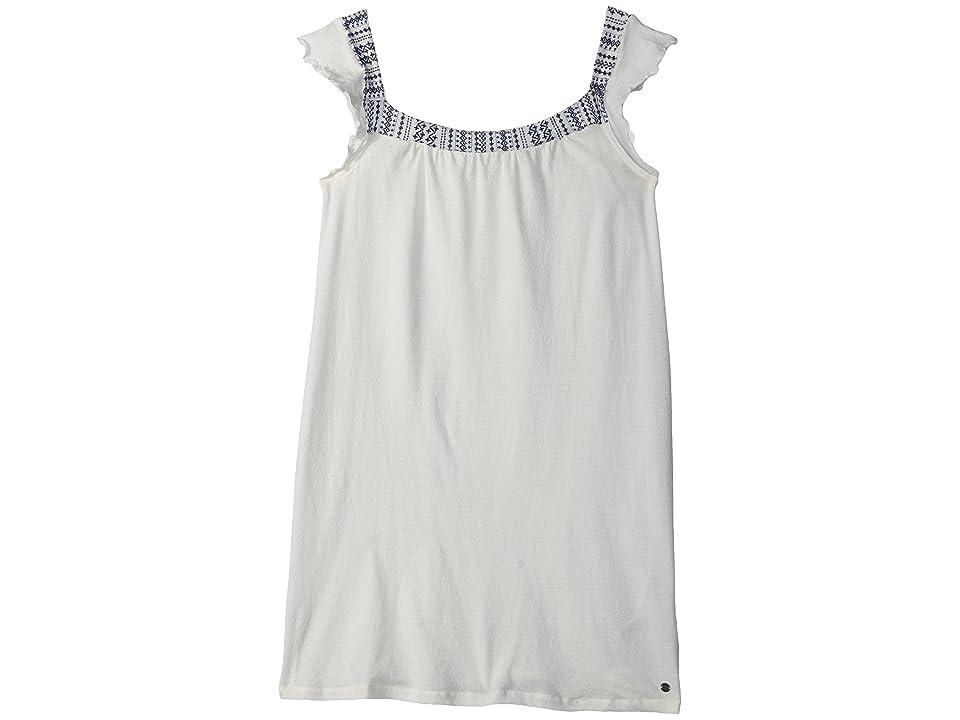 Roxy Kids Precious Mind Tank Dress (Big Kids) (Marshmallow) Girl
