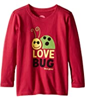 Life is Good Kids - Elemental Love Bug Long Sleeve Tee (Toddler)