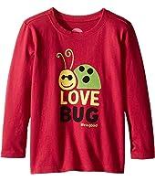 Life is Good Kids - Elemental Love Bug Long Sleeve Tee (Toddler)