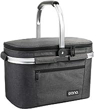 Eono by Amazon - 2 personas 22L Picnic Basket, cesta aislada