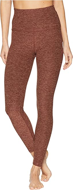 Sapcedye High-Waisted Midi Leggings