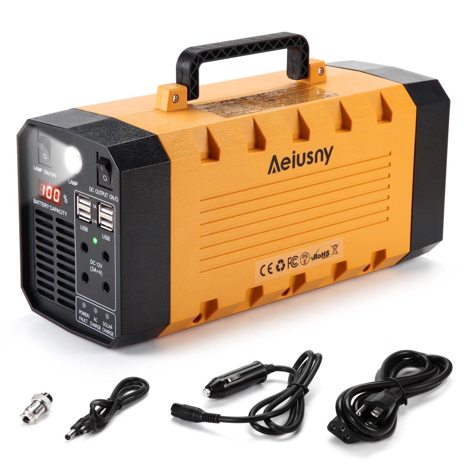 Aeiusny Portable Generator Station Emergency