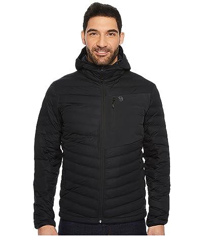 Mountain Hardwear StretchDown Hooded Jacket (Black) Men