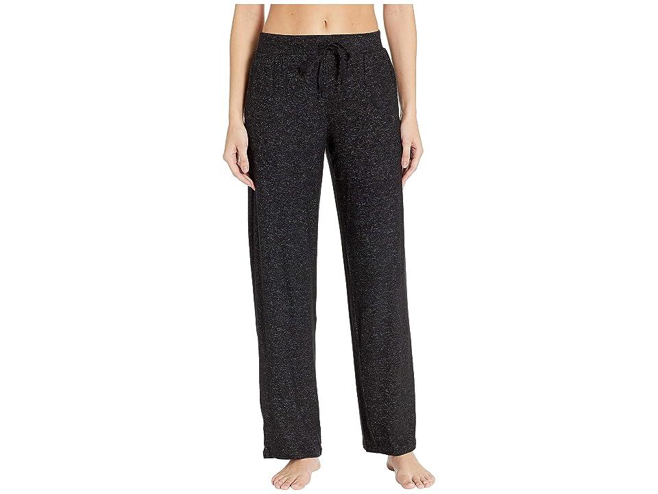 Donna Karan Sweater Lounge Pants (Black Marled) Women