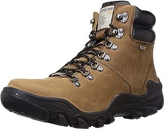 Woodland Men's Ogb 2975118_Camel Leather Boots-9 UK (43 EU) (10 US) 2975118CAMEL
