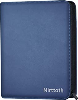 Nirttoth 720 Baseball Card Binder Compatible with Sports Cards, Trading Card Binder, Trading Album Display Holder Compatib...