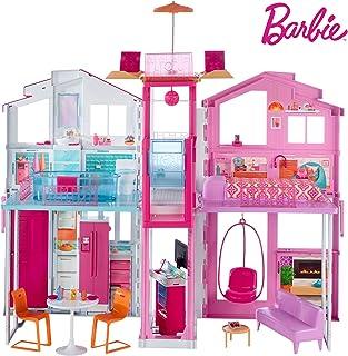 Barbie - Supercasa - casa muñecas, regalo para niñas y ni