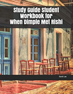 Study Guide Student Workbook for When Dimple Met Rishi