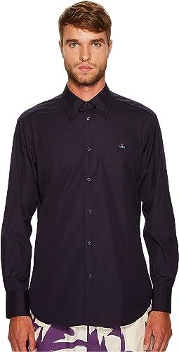 Vivienne Westwood - Poplin Cutaway Shirt