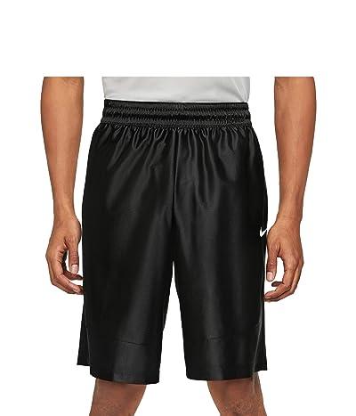 Nike Dry Durasheen Shorts (Black/Black/White) Men