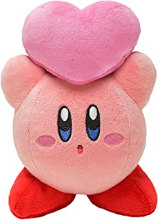 Star's Kirby Plush Doll Kirby KP33 (Friends Heart Throwing)