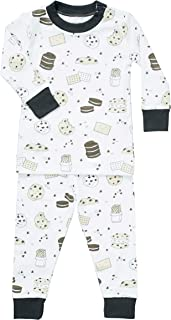 Noomie Toddler and Little Boys' 100% Pima Cotton Two Piece Pajama Set