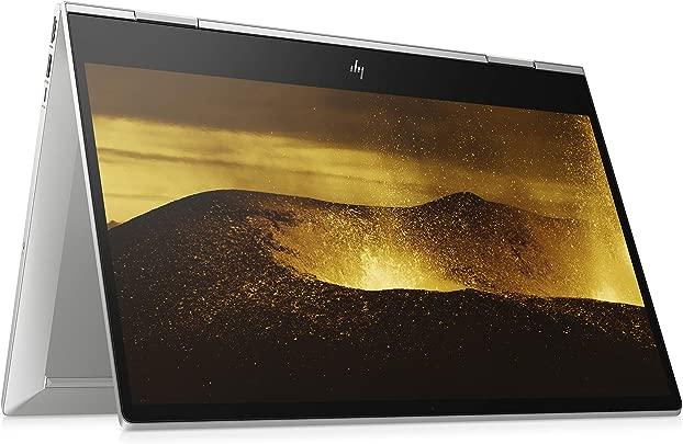 HP ENVY x360 15-dr1210ng  15 6 Zoll Full HD Touch  Convertible Laptop  Intel Core i5-10210U  8GB DDR4 RAM  256GB SSD  Intel UHD Grafik  Windows 10 Home  Fingerabdruckleser  silber