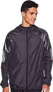 adidas Men's M Wind Fz Jkt Jacket, Black, Medium (DU1961)