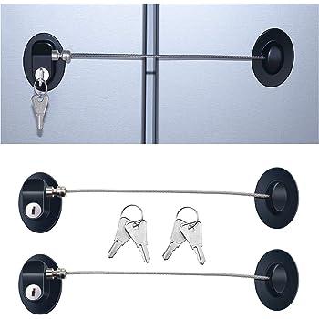 Sécurité ENFANT armoire sauvegarde Auto-adhésif armoire tiroir 11 cm 17 cm 2 pcs