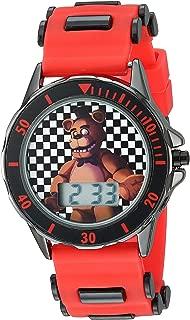 Five Nights at Freddy's Kids' FNF4019 Analog Display Analog Quartz Red Watch
