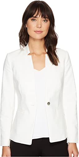 Vince Camuto One-Button Notch Collar Blazer