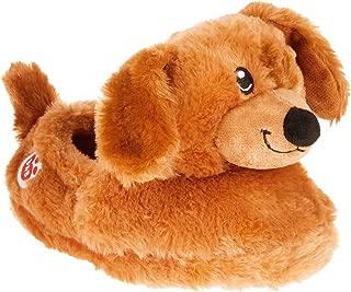 Boys Girls Build A Bear Lab Puppy Dog Slippers