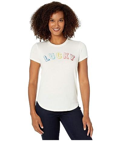 Lucky Brand Lucky Tee (Whisper White) Women
