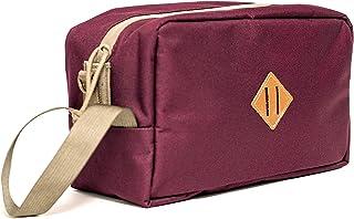 Abscent Toiletry Bag, Crimson