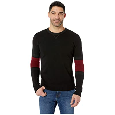 Smartwool Ski Ninja Crew Sweater (Black) Men