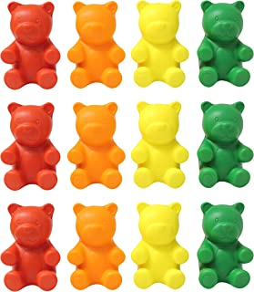 Curious Minds Busy Bags 12 Gummy Bear Candy Stress Balls - Bulk 1 Dozen - Fidget Set for Students, Adults and Children Office Calming Toy