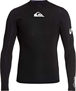Quiksilver Mens Syncro 1mm Neoprene Wetsuit Coat Jacket Black White EQYW803025