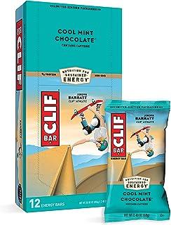 CLIF Energy Bar Cool Mint Choc (49mg Caffeine) 12x68g