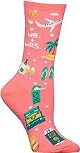 Hot Sox Women's Wedding Bliss Novelty Casual Crew Socks
