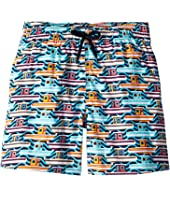Vilebrequin Kids - 26th July Mykonos Superflex Jirise Mykonos Printed Trunks (Toddler/Little Kids/Big Kids)