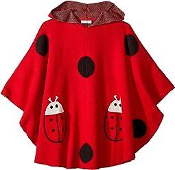 Bianca Ladybug Hooded Cape (Little Kids/Big Kids)