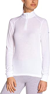 Odlo Men's Long Sleeve Shirt Women, Womens, White